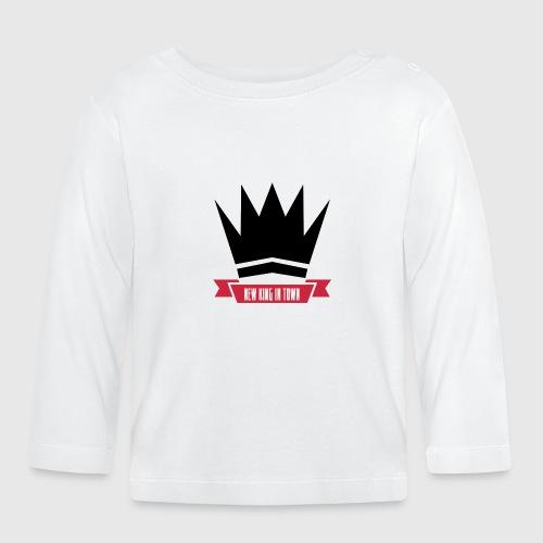 newking1 png - Langærmet babyshirt