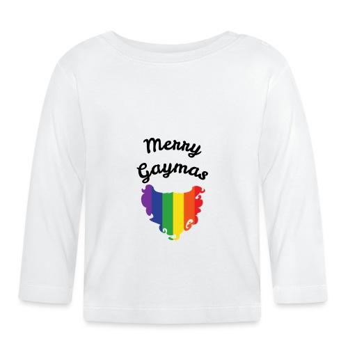 Merry Gaymas | Weihnachten | LGBT | Geschenkidee - Baby Langarmshirt