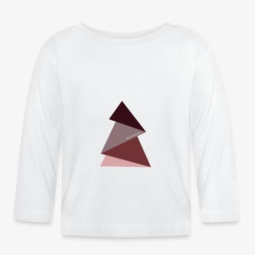 fir triangles 2 - Baby Long Sleeve T-Shirt