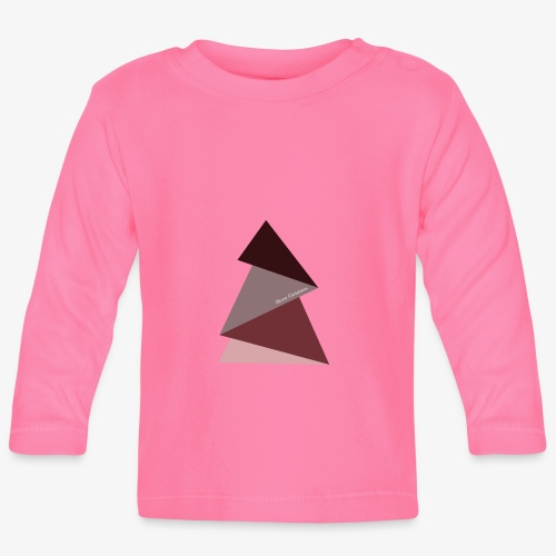 sapin triangles 2 - T-shirt manches longues Bébé