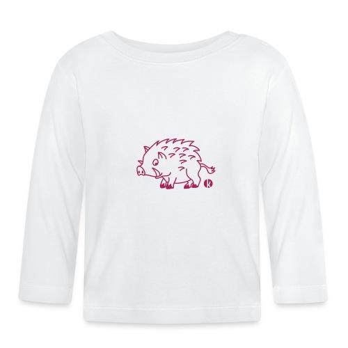Wildschwein - Baby Langarmshirt