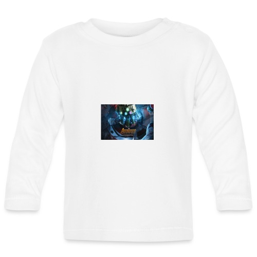 infinity war taped t shirt and others - Baby Long Sleeve T-Shirt