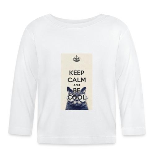 deksel - Langarmet baby-T-skjorte