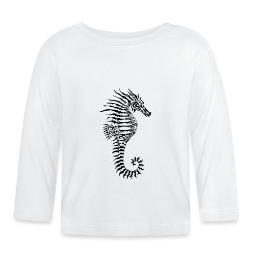 Alien Seahorse Invasion - Baby Long Sleeve T-Shirt