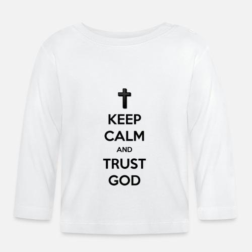Keep Calm and Trust God (Vertrouw op God) - T-shirt