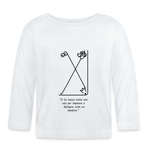 strumenti creativi - Maglietta a manica lunga per bambini
