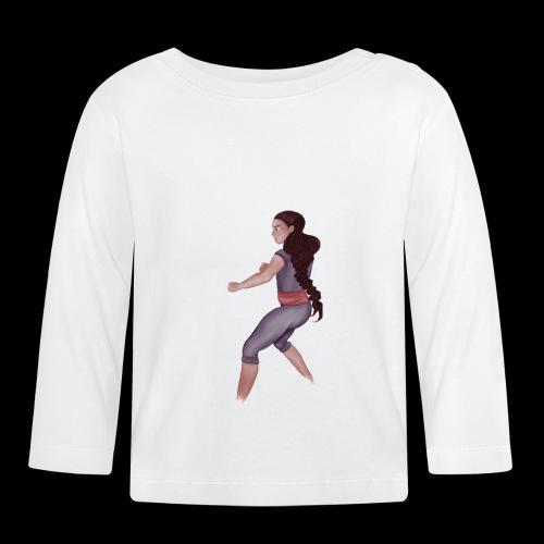Steven Universe fanart connie training - Baby Long Sleeve T-Shirt
