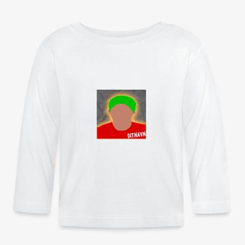 DitNavn Krus - Langærmet babyshirt