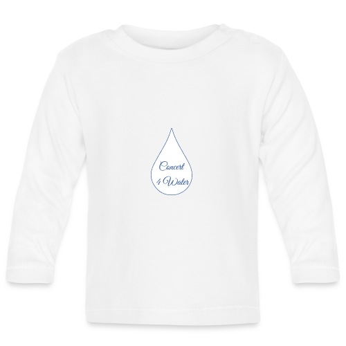 Concert 4 Water's Image Logo - Baby Long Sleeve T-Shirt
