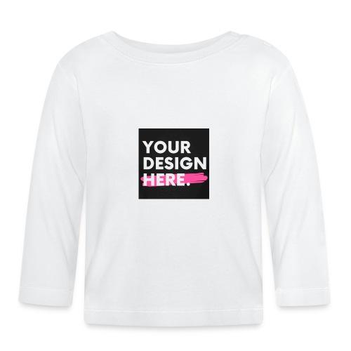 Custom-made - Långärmad T-shirt baby