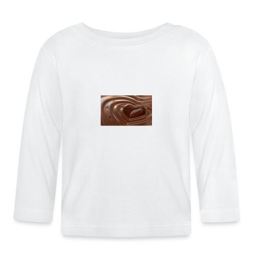 Choklad T-shirt - Långärmad T-shirt baby