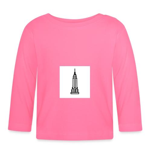 Empire State Building - T-shirt manches longues Bébé