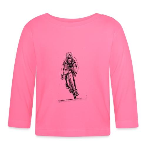 Ciclismo e bicicletta uno sport estivo - Maglietta a manica lunga per bambini