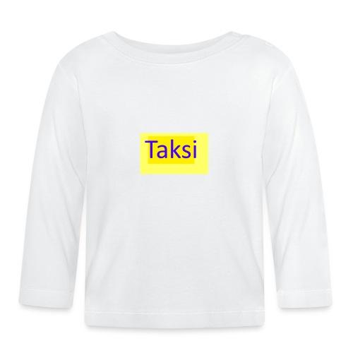 Taksi - Vauvan pitkähihainen paita