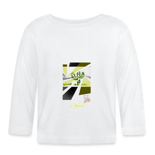 3D kaptus - Långärmad T-shirt baby