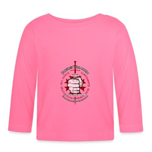 Logo frei PUR mitWa trans - Baby Langarmshirt