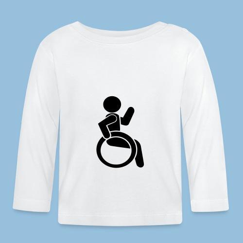 Waving wheelchair user 001 - T-shirt