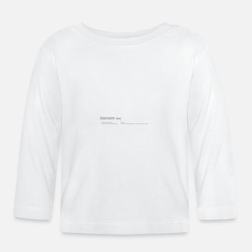 Erleuchtung - Baby Langarmshirt