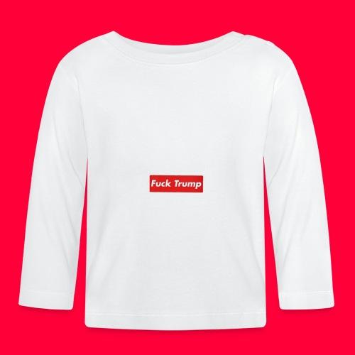 fuck trump - T-shirt manches longues Bébé