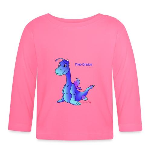 Théo Dragon - T-shirt manches longues Bébé
