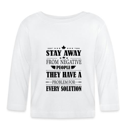 Stay away - Vauvan pitkähihainen paita