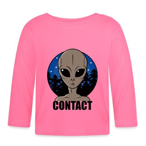 Contact Extraterrestre - T-shirt manches longues Bébé