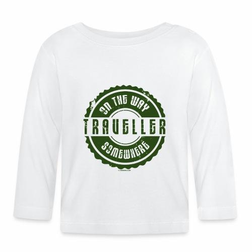 FP13 TR-02 ON THE WAY SOMEWHERE-TRAVELLER PRODUCTS - Vauvan pitkähihainen paita