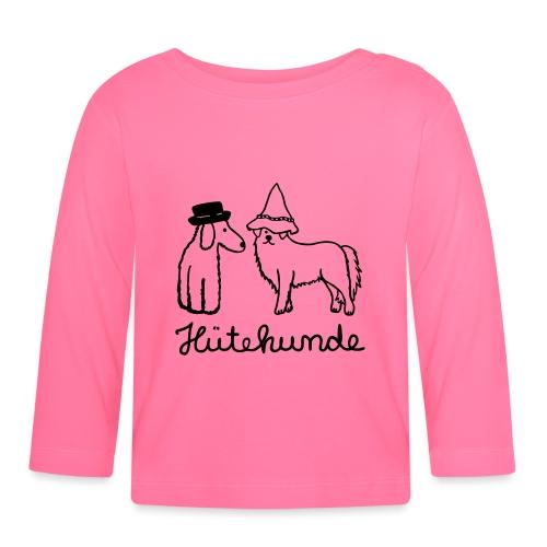 Hütehunde Hunde mit Hut - Baby Langarmshirt