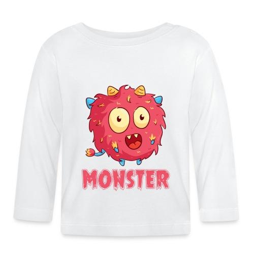 I've created a monster Partnerlook - Baby Langarmshirt
