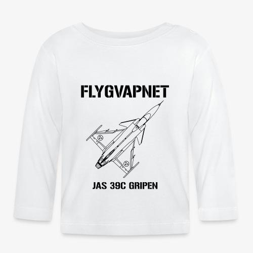 FLYGVAPNET - JAS 39C - Långärmad T-shirt baby
