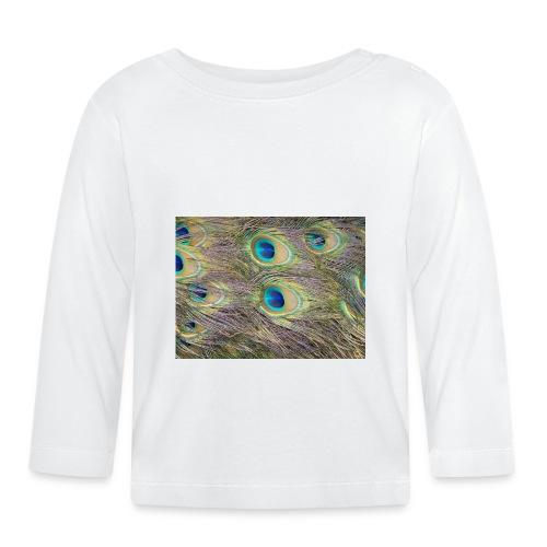 Peacock feathers - Vauvan pitkähihainen paita