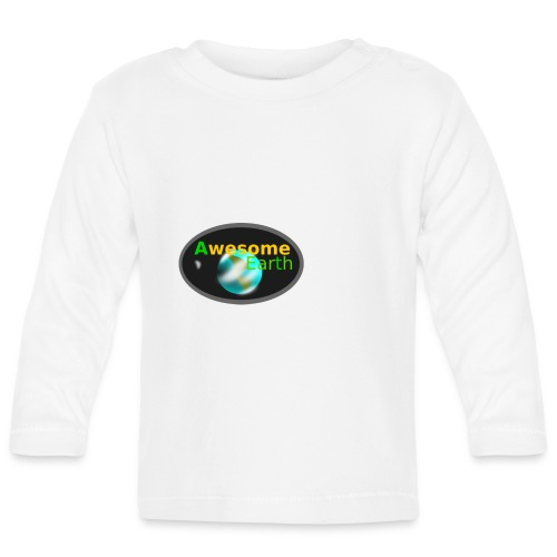 awesome earth - Baby Long Sleeve T-Shirt