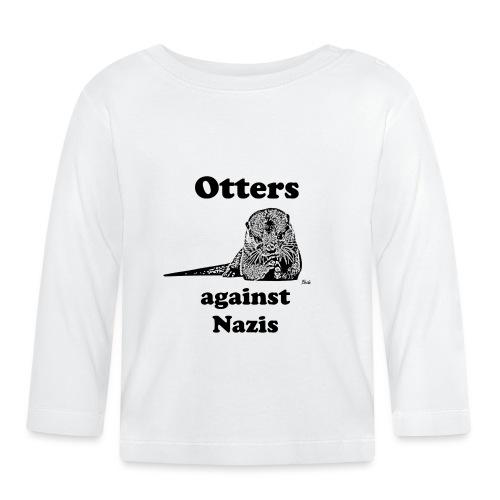 ottersagainstnazis - Baby Langarmshirt