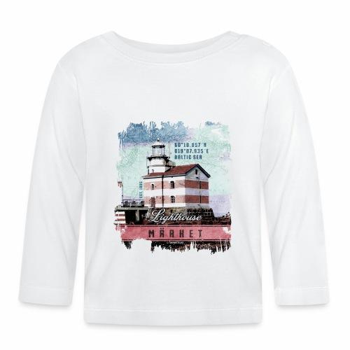 Märket majakkatuotteet, Finland Lighthouse, väri - Vauvan pitkähihainen paita