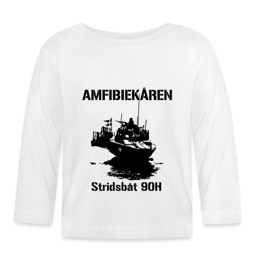 Amfibiekåren - Stridsbåt 90H - Långärmad T-shirt baby