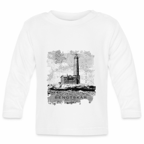 Bengtskär Majakka - Tekstiilit ja lahjatuotteet - Vauvan pitkähihainen paita