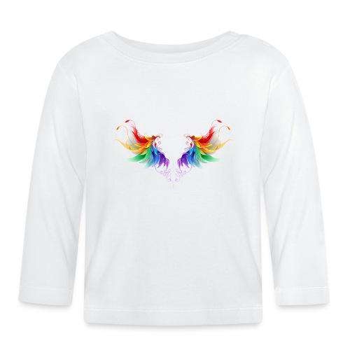 Ailes d'Archanges aux belles couleurs vives - T-shirt manches longues Bébé