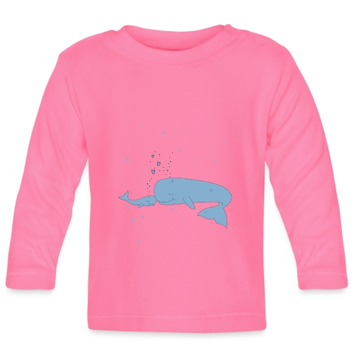 Wal - Baby Langarmshirt