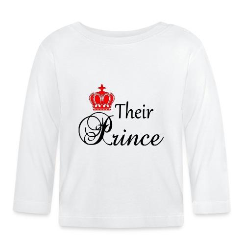 Their Prince - Långärmad T-shirt baby