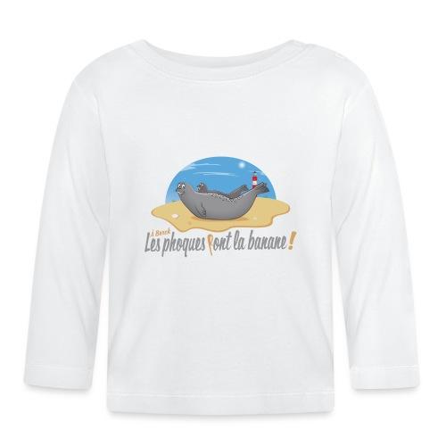 A Berck, les Phoques Font la banane! - T-shirt manches longues Bébé