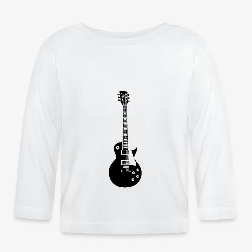 Musikinstrument Gitarre - Musiker T-Shirt Designs - Baby Langarmshirt
