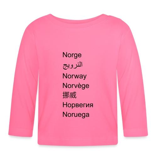FN-Norge - plagget.no - Langarmet baby-T-skjorte