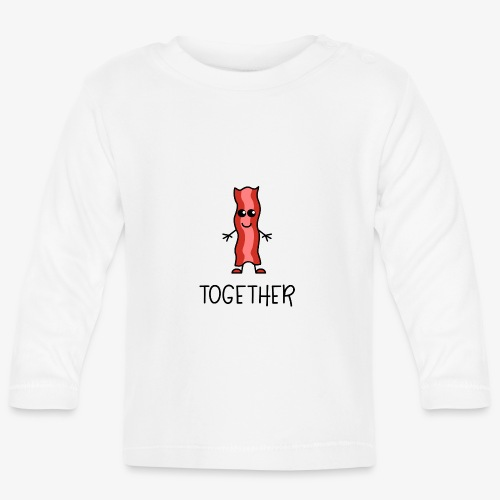 Better Together Partnerlook (Part2) Speck - Baby Langarmshirt