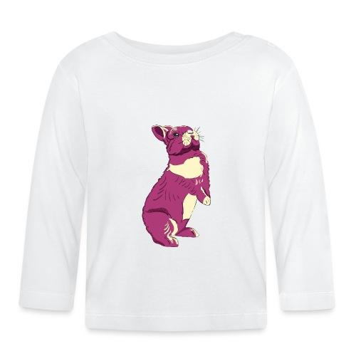 Kaninchen Hasen Häschen Bunny Zwergkaninchen - Baby Langarmshirt