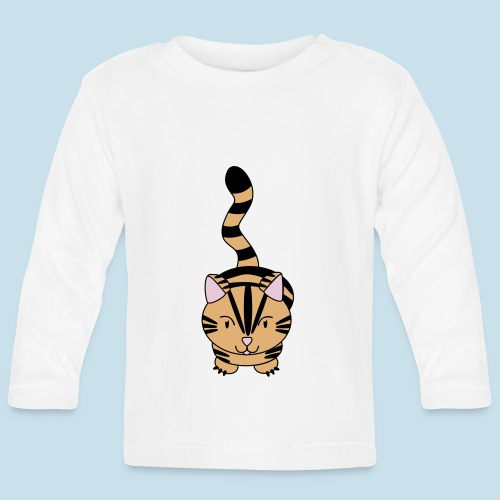 Miau Katze - Baby Langarmshirt