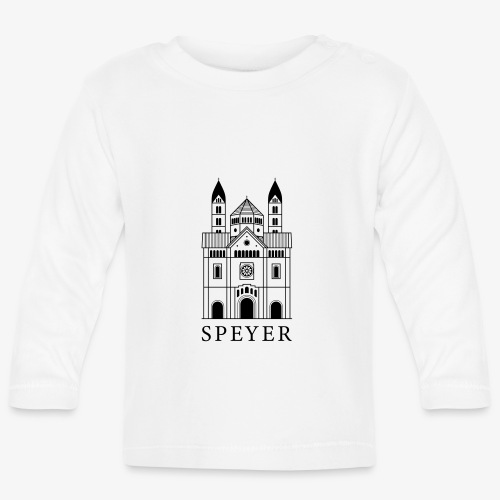 Speyer - Dom - Classic Font - Baby Langarmshirt