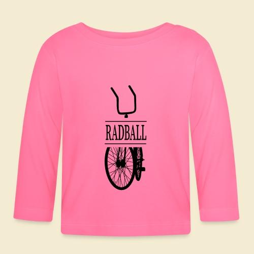 Radball | Retro Black - Baby Langarmshirt