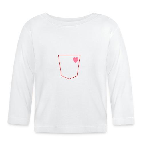 bolsillo - Camiseta manga larga bebé