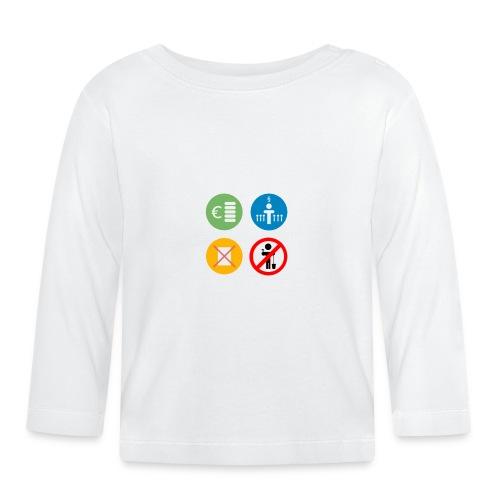4kriteria ubi vierkant trans - T-shirt