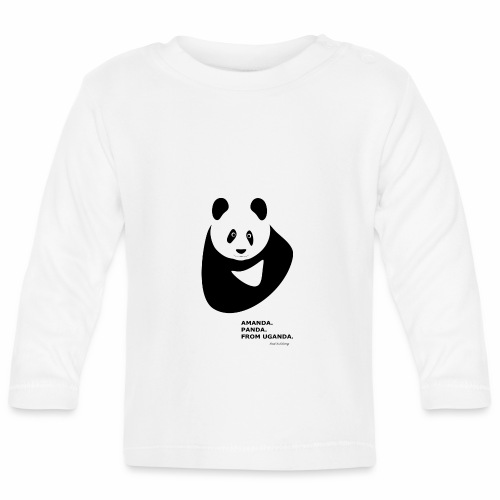 Panda from Uganda - Baby Long Sleeve T-Shirt